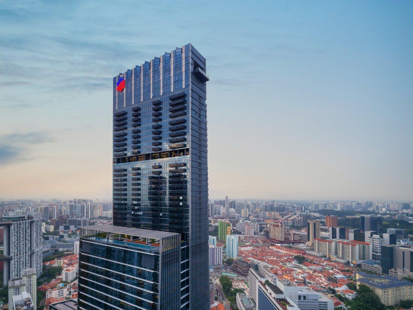 tòa tháp Guoco Tower