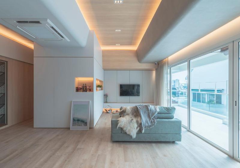 Penthouse phong cách Scandinavian
