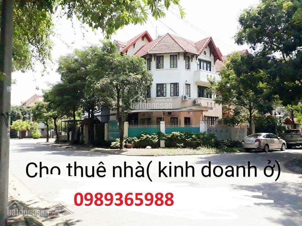 chi tiết Cho Thuê Nhà Biệt Thự Khu ĐT Mới Sài Đồng Long Biên HN dt260m2x4t giá 35tr LH: 0989365988