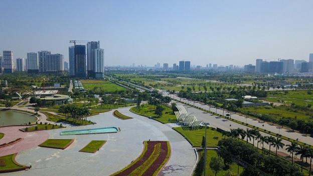đường nối Võ Chí Công và Phạm Văn Đồng