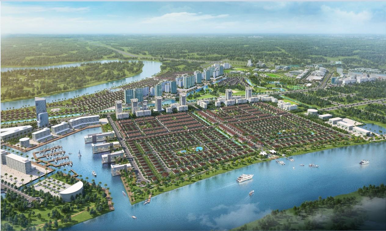 thành phố bên sông Waterpoint