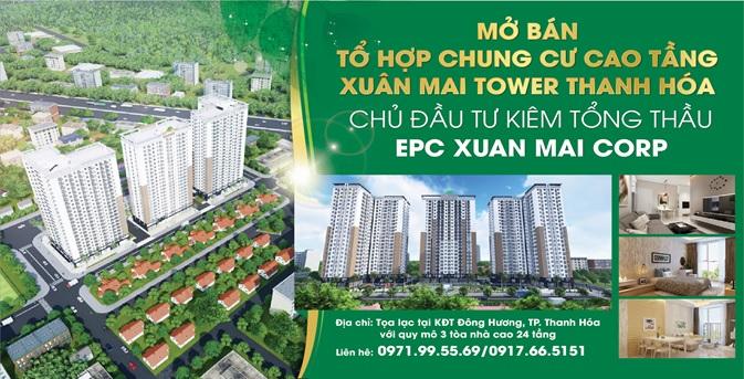 Ưu đãi hấp dẫn khi mua Xuân Mai Tower – Thanh Hóa