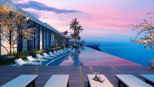 hồ bơi của dự án The Sóng Vũng Tàu