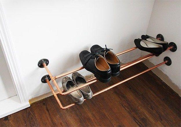 giá giày bằng ống đồng