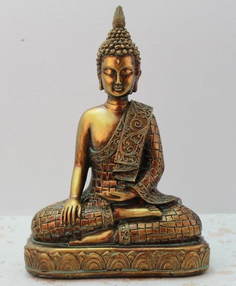 Tượng Phật thiền trên đài sen