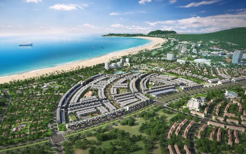 toàn cảnh dự án Nhơn Hội New City