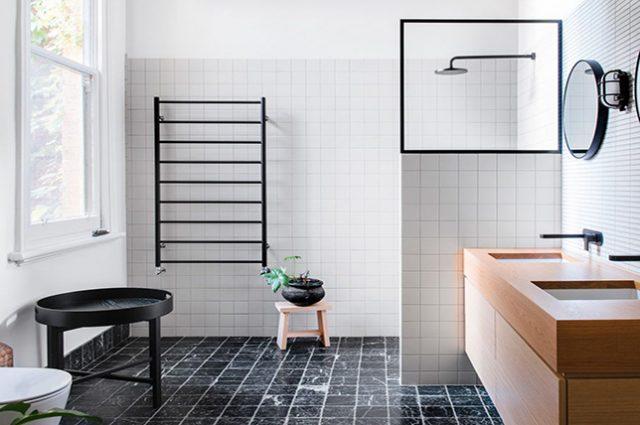 phòng tắm tối giản