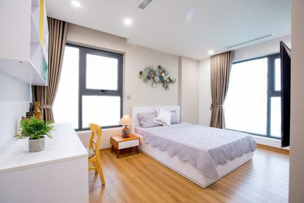 phòng ngủ trong căn hộ dự án The Legacy