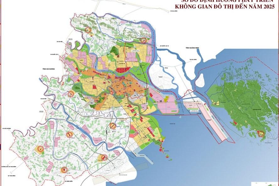 Điều chỉnh quy hoạch chung thành phố Hải Phòng đến năm 2025