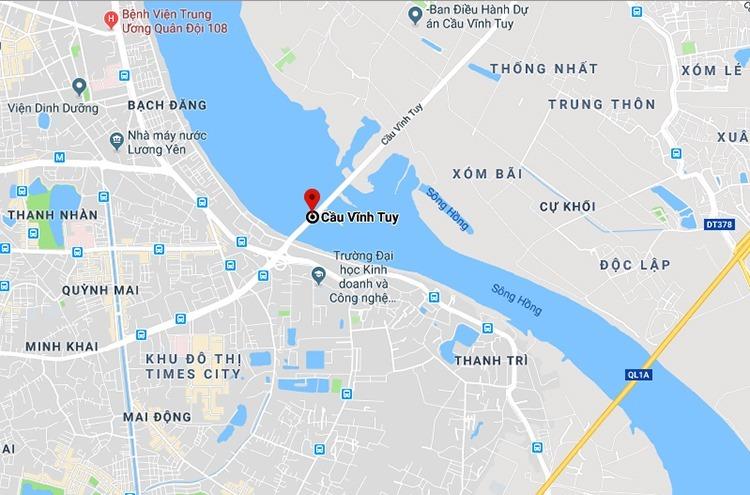 dự án cầu Vĩnh Tuy mới