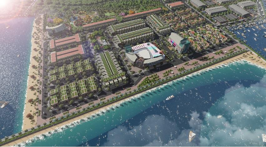 KĐT lấn biển Queen Pearl Marina Complex