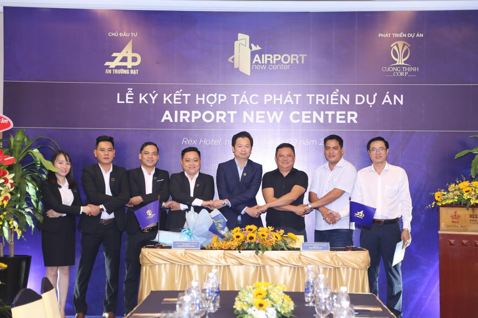hợp tác dự án Airport New Center