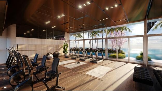 Trung tâm gym và yoga The Sóng