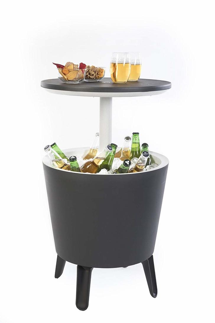 bàn trà kết hợp thùng làm lạnh