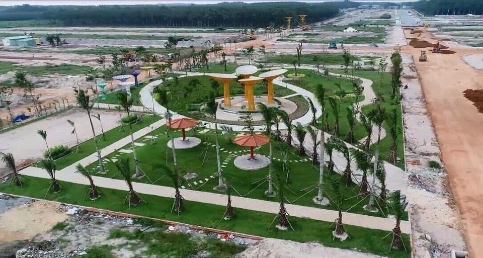 Một Khu đô thị mới tại trung tâm Bàu Bàng