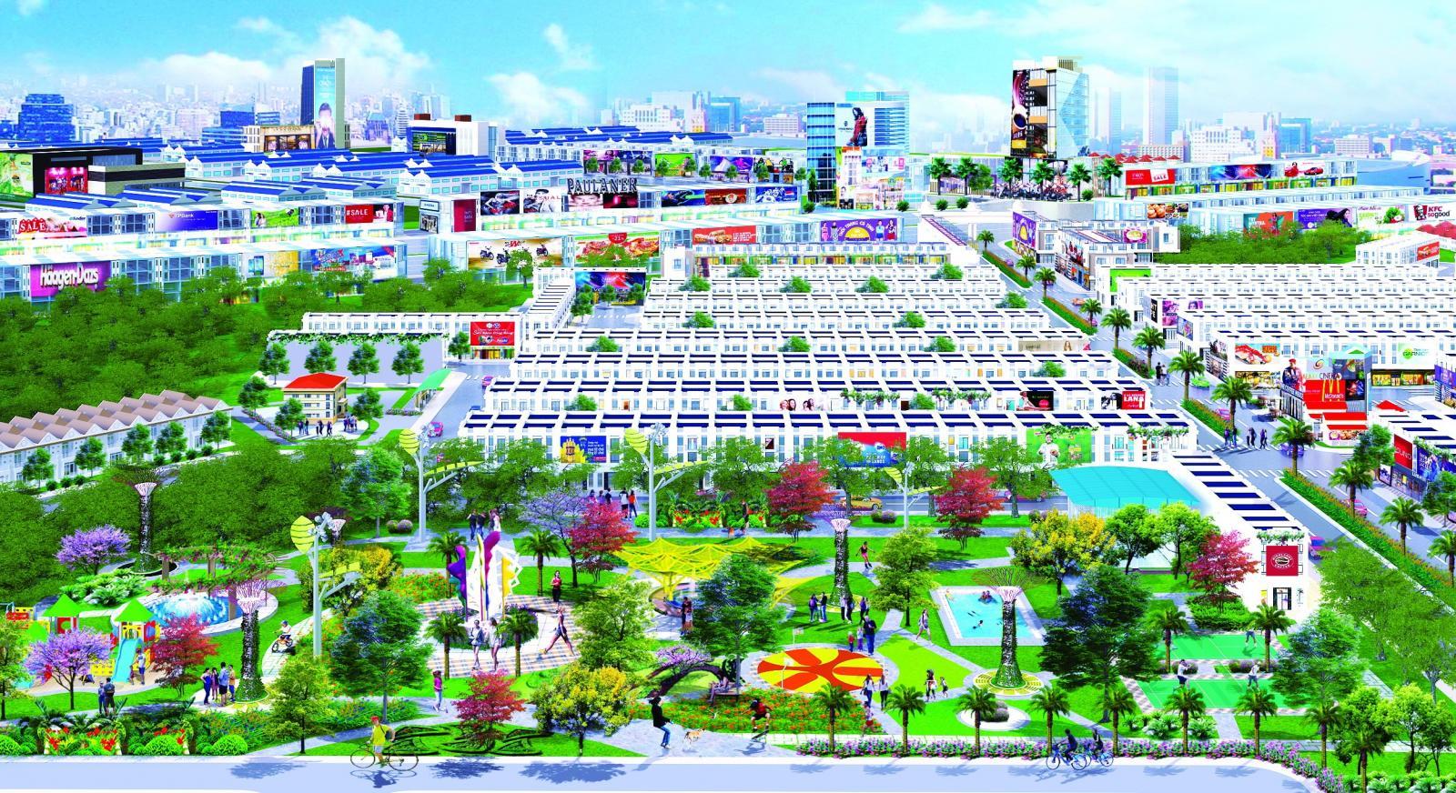 khu đô thị Hana Garden Mall