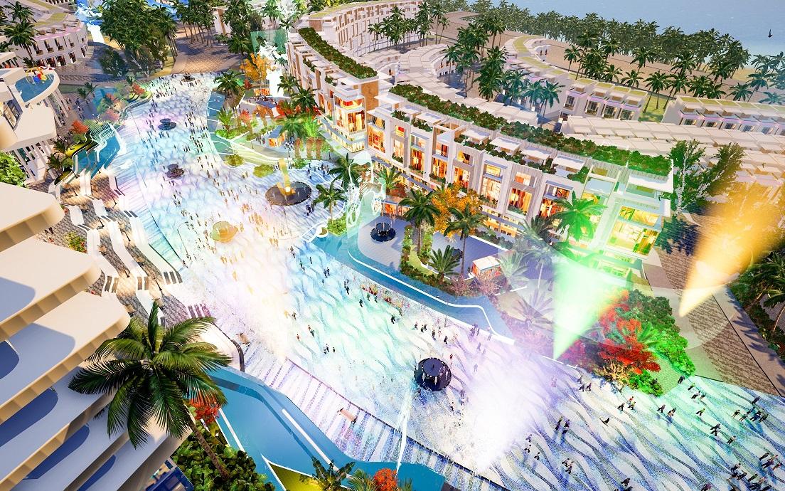 Tuyến phố shopping của Mũi Né Summerland Resort