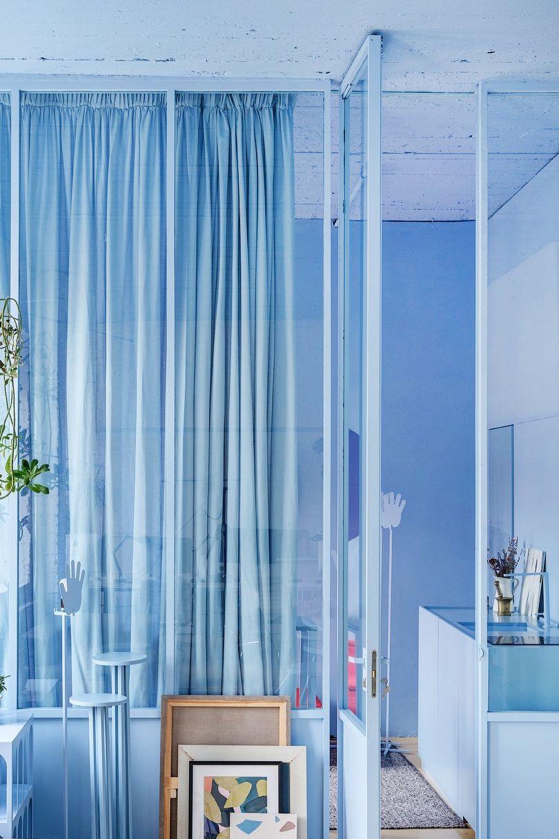 Thiết kế nội thất đơn sắc