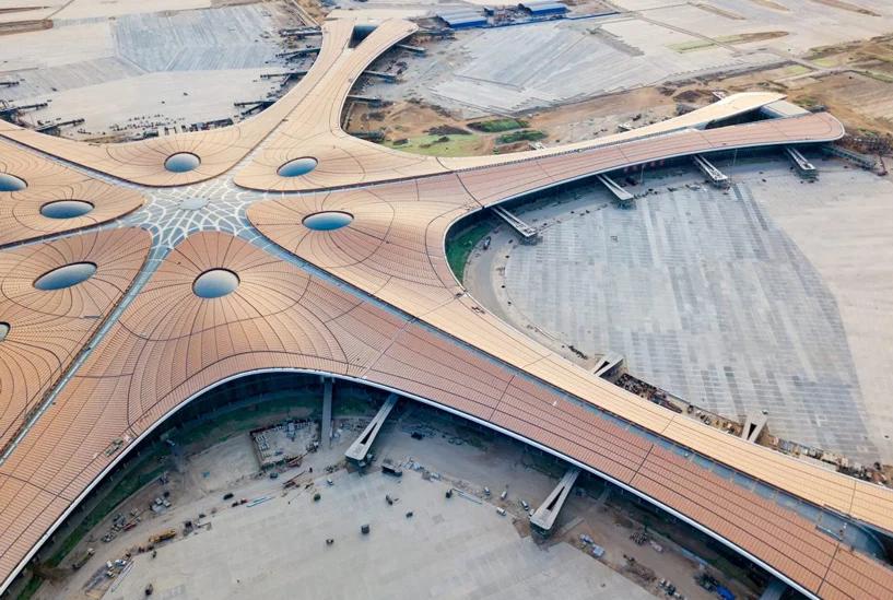 Kiến trúc sân bay quốc tế Đại Hưng