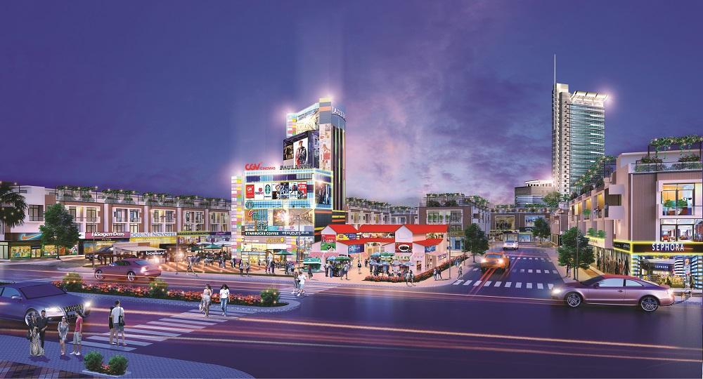 khu đô thị Hana Garden Mall.