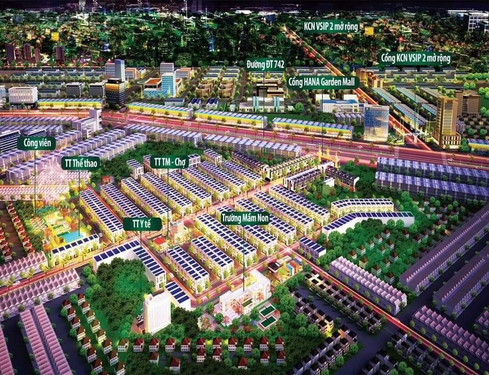 toàn cảnh Hana Garden Mall