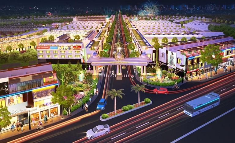 khu đô thị kiểu mẫu Hana Garden Mall