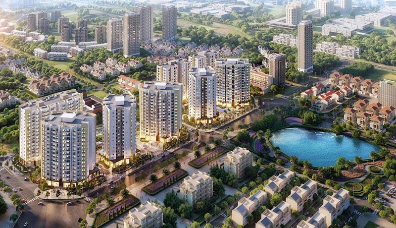 Hình ảnh phối cảnh dự án Le Grand Jardin Sài Đồng tại Long Biên, Hà Nội