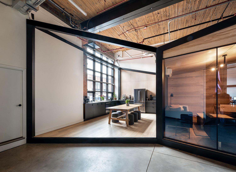 Văn phòng làm việc với thiết kế