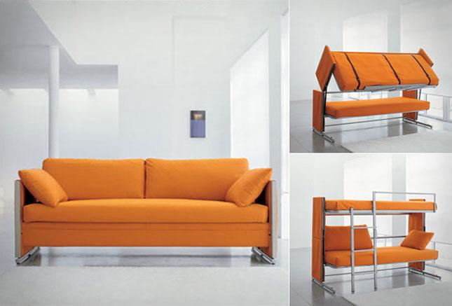 sofa kiêm giường tầng