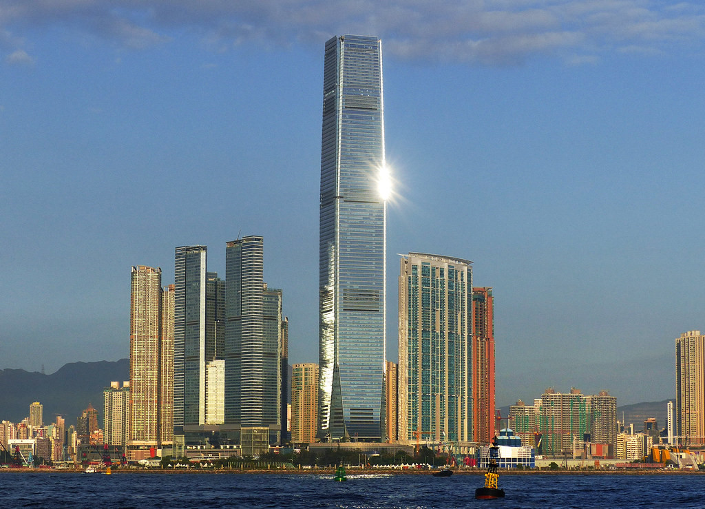 Trung tâm thương mại quốc tế tại Hong Kong