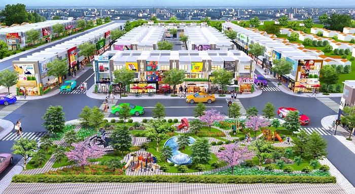 phối cảnh Golden Future City
