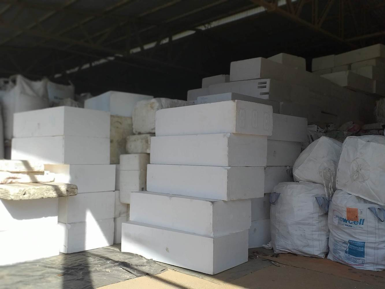 vật liệu tái chế EPS