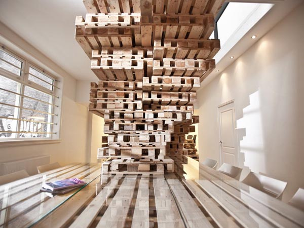 1001 ý tưởng tái chế pallet gỗ làm nội thất gia đình