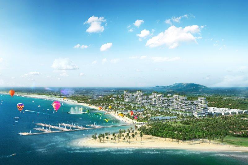 Choáng ngợp với tổ hợp 12 phân khu chuẩn 5 sao tại Thanh Long Bay