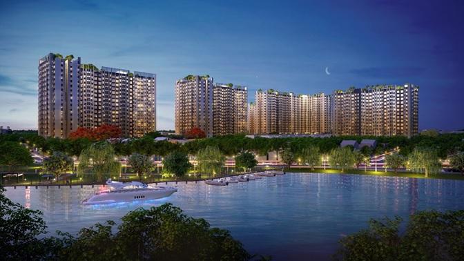 dự án bên sông