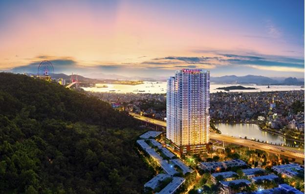Phối cảnh dự án Ramada by Wyndham Hạ Long Bay View