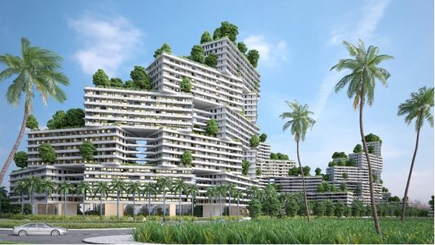 khu căn hộ biển tại Thanh Long Bay