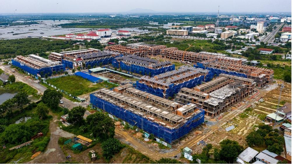 ảnh thực tế dự án Barya City