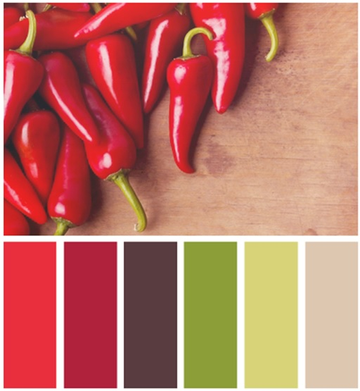 màu sắc tủ bếp phía Nam