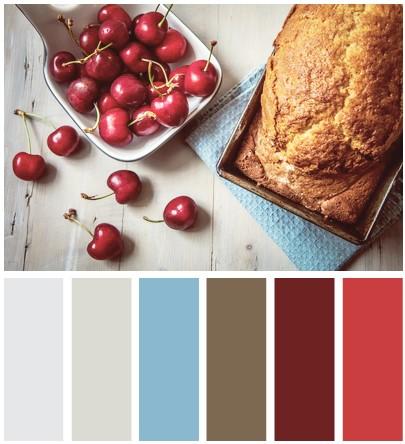 màu sắc tủ bếp phía Đông Bắc