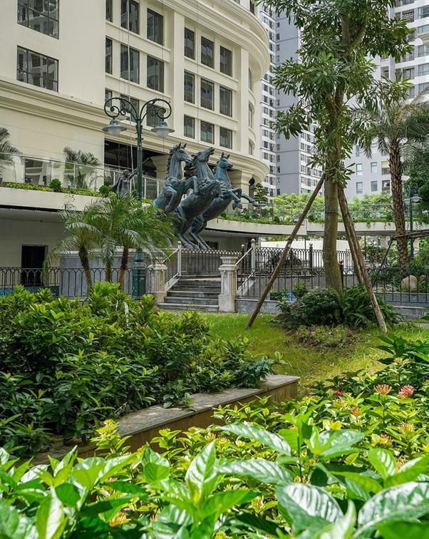Cây xanh dự án Sunshine Garden