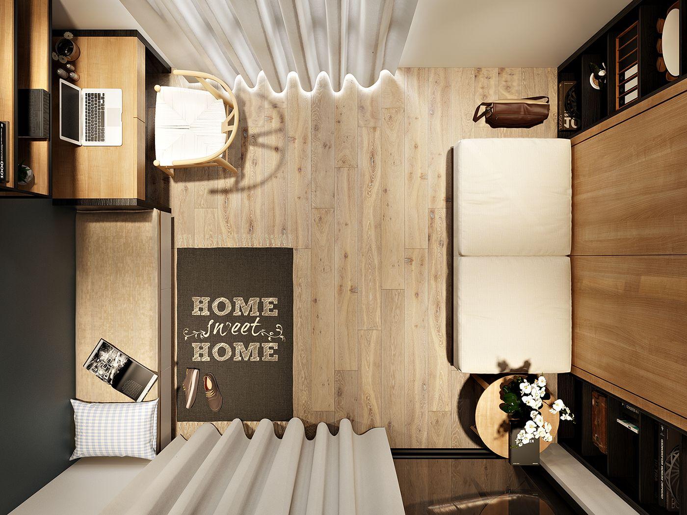 phòng ngủ trung tính