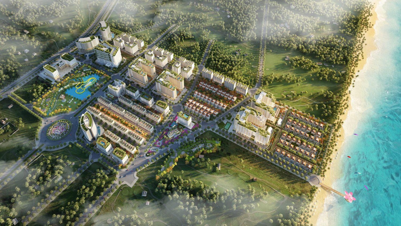 Hình ảnh phối cảnh dự án Sim Island Phú Quốc tại Phú Quốc, Kiên Giang