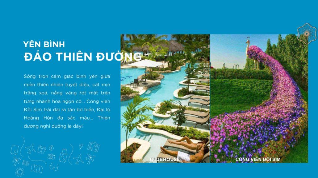 Công viên đồi Sim - Clubhouse tại Sim Island Phú Quốc