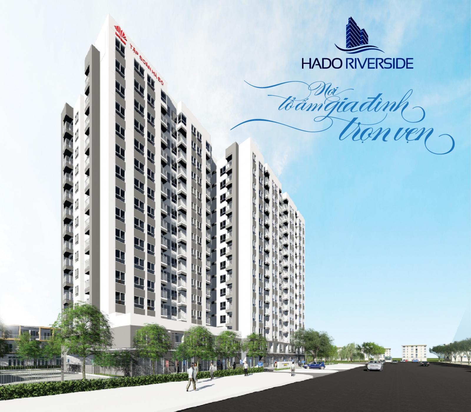 Hình ảnh phối cảnh dự án Hà Đô Riverside đường Lê Thị Riêng, quận 12