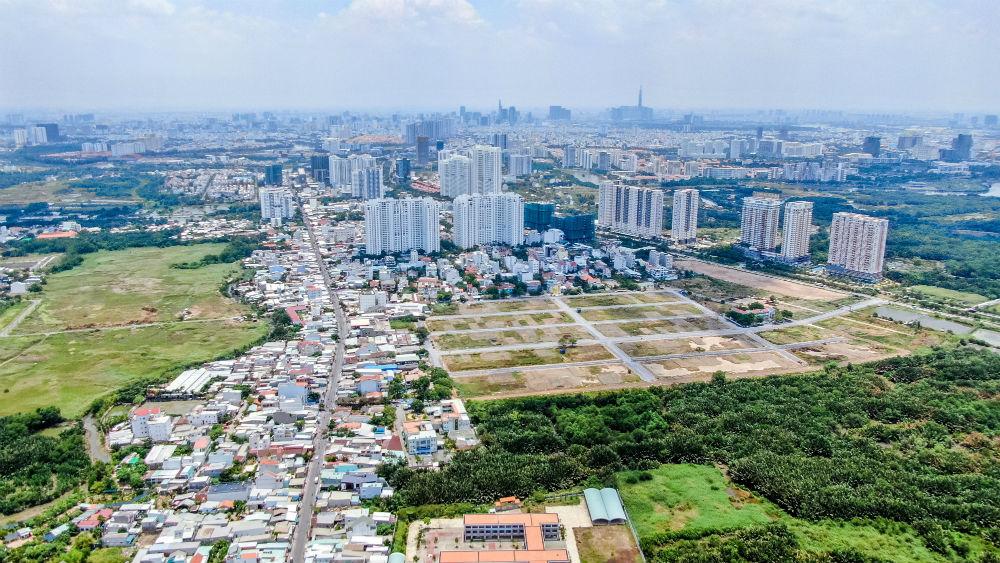 đô thị vệ tinh phía Nam Sài Gòn