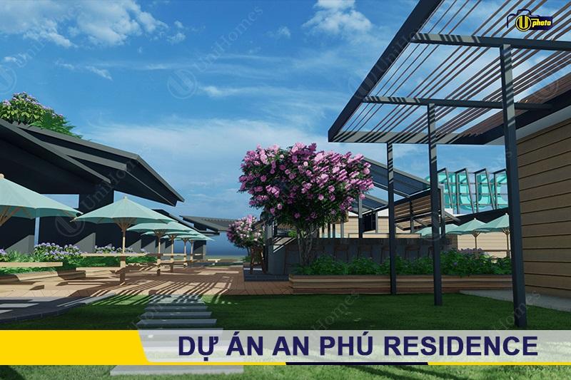 Phối cảnh Sân vườn tại An Phú Residence