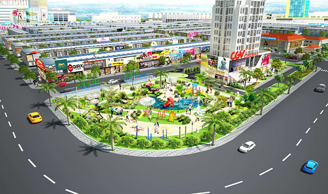khu đô thị The Eden City