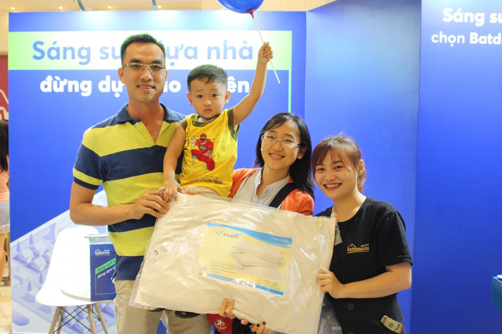 Gian hàng trải nghiệm thứ 2 của Batdongsan.com.vn