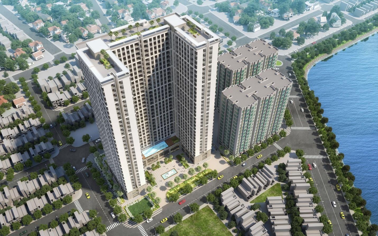 Hình ảnh phối cảnh Chung cư Phú Tài Residence